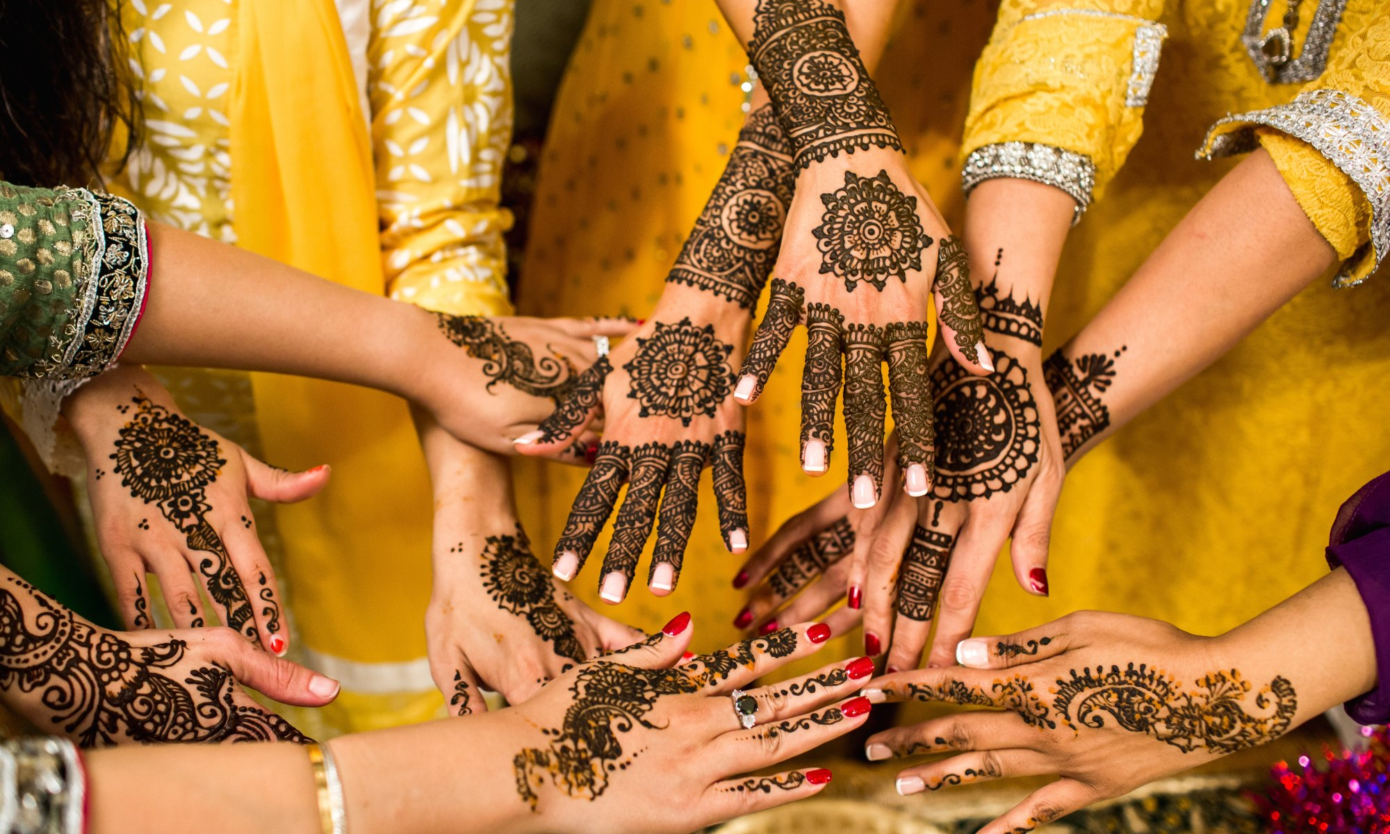Indian Marriage- mehendi art-wedding