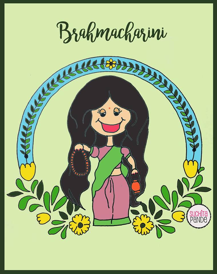 day 2 of navratri -brahmacharini-mindeology