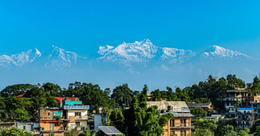 Dhauladhaar range